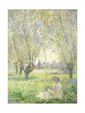 Woman Seated under the Willows  1880