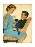 Illustration from 'John Bull'  1950S