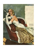 Women's Fashion  Illustration from 'John Bull'