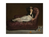 Reclining Young Woman in Spanish Costume  1862-63