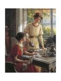 Detail from Women Having Tea