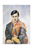 Portrait of Tristan Tzara  1923