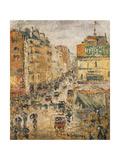 Rue De Clignancourt  Paris  C1924