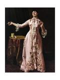 Woman Smoking  1895