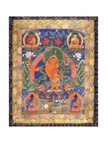 Thangka of Arapachana Manjushri