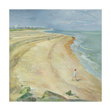 The Curving Beach  Southwold  1997
