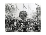 The Balloon  1862