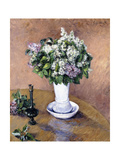 Still Life with a Vase of Lilac  1883