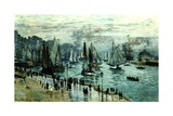 Fishing Boats Leaving Le Havre  1874
