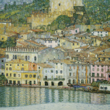 Malcesine, Lake Garda, 1913 Reproduction d'art par Gustav Klimt