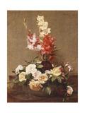 Gladioli and Roses  1881