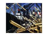 Loading Timber  Southampton Docks  1916-17