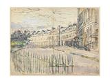 A View of Lansdown Crescent  Bath