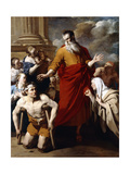 Saint Paul Healing the Sick at Lystra