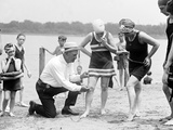 Measuring Bathing Suits  C1922