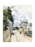 Hermitage Street  Pontoise  1874