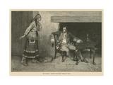 The Ojibway Maiden Disclosing Pontiac's Plot