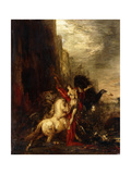 Diomedes Devoured by His Horses  C1865-1870