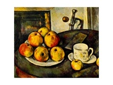 Still Life with Apples and a Cup  1890-94