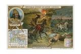 Invasion of the Huns under Attila  444