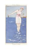 Parisian Clothing: Bathing Costume  1913