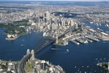 Aerial View of Sydney  New South Wales