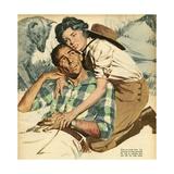 Illustration from 'John Bull'  1959