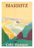 Biarritz Reproduction d'art par Debo