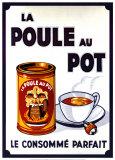Poule Au Pot Reproduction d'art