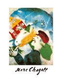 Le vie de la campagne Reproduction d'art par Marc Chagall