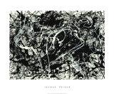 Numéro 33, 1949 Sérigraphie par Jackson Pollock