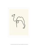Le chameau Sérigraphie par Pablo Picasso
