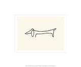 Le chien Sérigraphie par Pablo Picasso
