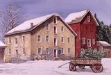 Journée d'hiver Reproduction d'art par Dan Campanelli