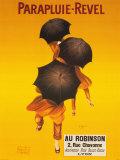 Publicité parapluies Revel Reproduction d'art par Leonetto Cappiello