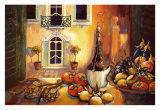 Cuisine toscane Reproduction d'art par Karel Burrows