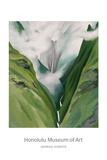 Waterfall  No. III 'Iao Valley Reproduction d'art par Georgia O'Keeffe