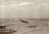 Boeing Stratocruiser  New York Harbor  1949