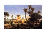 Moorish Buildings at Elche  Spain