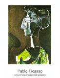Grand profil ,1963 Reproduction d'art par Pablo Picasso