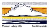 Nuage et mer (1964) Sérigraphie par Roy Lichtenstein
