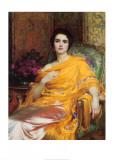 Portrait of Elsa  Daughter of William Hall  Esq