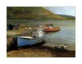 Fishing Boats on Lake Connemara