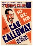 Cab Calloway & His Cotton Club Orchestra - Cotton Club, NYC 1931 Reproduction d'art par Dennis Loren