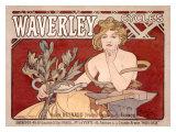 Waverley Cycles Giclée par Alphonse Mucha