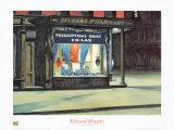 La pharmacie Reproduction d'art par Edward Hopper
