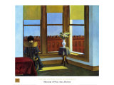 Chambre à Brooklyn Reproduction d'art par Edward Hopper