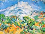 La Montagne St. Victoire Reproduction d'art par Paul Cézanne