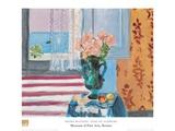 Vase Of Flowers Reproduction d'art par Henri Matisse