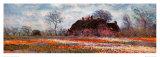 Tulip Fields at Sassenheim (detail) Reproduction d'art par Claude Monet